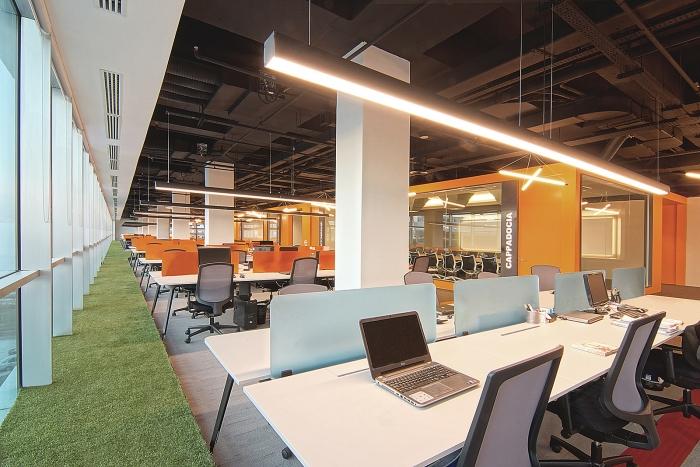 La OSO Architecture ha sviluppato un nuovo ufficio di design per la società di viaggi online MetGlobal che si trova a Istanbul, in Turchia.